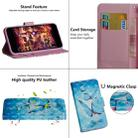 For OPPO A5 (2020) / A9 (2020) 3D Painting Pattern Horizontal Flip TPU + PU Leather Case with Holder & Card Slots & Wallet(Three Butterfly) - 6