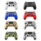 Grey Camouflage Snowflake Button Wired Gamepad Game Handle Controller for PS4 - 4