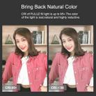 PULUZ RGB Colorful Photo LED Stick Adjustable Color Temperature Handheld LED Fill Light with Remote Control(Black) - 8