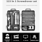 115 in 1 Precision Screw Driver Mobile Phone Computer Disassembly Maintenance Tool Set(Red) - 11