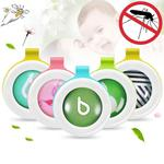 5 PCS Anti-mosquito Buckle Button Plant Essential Oil Inner Core Bugs Away, Random Color Delivery