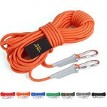 Outdoor Rock Climbing Hiking Accessories High Strength Auxiliary Cord Safety Rope, Diameter: 6mm, Length: 15m, Random Color
