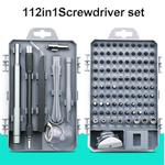 Refined 112pcs screwdriver tool set mobile phone flat panel home dismantling maintenance