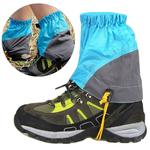 Outdoor Mountaineering Sandproof Waterproof Tearproof Legging Protective Case(Blue )