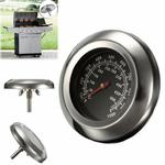 Outdoor Stainless Steel Barbecue Oven Thermometer
