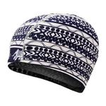 Comfortable Cloth Swimming Cap for Men and Women(Blue Strip-11)