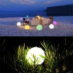 YWXLight Alexa Voice Control WiFi Atmosphere Table Lamp Mobile Smart Lighting APP Night Light Ball Light