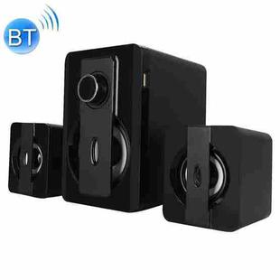 X3000 Stereo Heavy Bass Bluetooth Speaker, Support TF Card / USB / AUX / FM (Black)