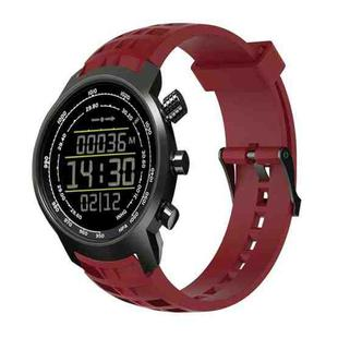 Silicone Replacement Wrist Strap for SUUNTO Terra (Wine Red)