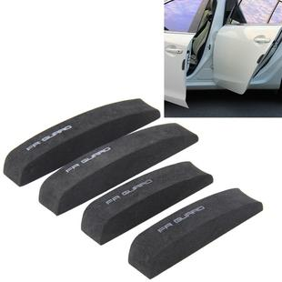 8pcs Black Car Door Edge//Side Mirror//Body Anti-scratch Protector Guard Stickers