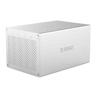 ORICO Honeycomb Series WS500C3 SATA 3.5 inch USB-C / Type-C 5 Bays Aluminum Alloy HDD / SSD Enclosure, The Maximum Support Capacity: 50TB