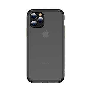 For iPhone 11 Pro Max TOTUDESIGN Gingle Series Shockproof TPU+PC Case(Black)