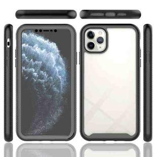 Starry Sky Solid Color Series Shockproof PC + TPU Case with PET Film For iPhone 11 Pro Max(Light Purple)