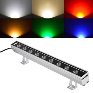 18W LED Embedded Buried Lamp IP65 Waterproof Rectangular Landscape Platform Stair Step Lamp(Yellow Light)