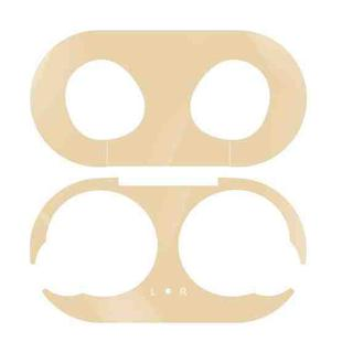 For Galaxy Buds Wireless Bluetooth Earphone Metal Protective Sticker(Gold)