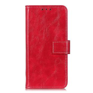 For OnePlus 8 Pro Retro Crazy Horse Texture Horizontal Flip Leather Case with Holder & Card Slots & Photo Frame & Wallet(Red)