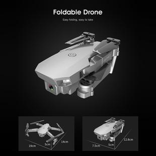 E68 Pro 720P Foldable RC Quadcopter Drone Remote Control Aircraft