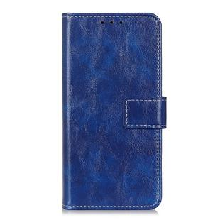For OnePlus Nord Retro Crazy Horse Texture Horizontal Flip Leather Case with Holder & Card Slots & Photo Frame & Wallet(Blue)