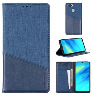 For OPPO Realme 2 Pro MUXMA MX109 Horizontal Flip Leather Case with Holder & Card Slot & Wallet(Blue)