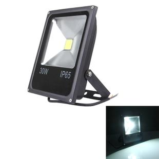 30W IP65 Waterproof White Light LED Floodlight, 2700LM Lamp, AC 85-265V