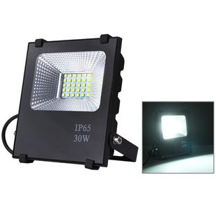 30W IP65 Waterproof LED Floodlight , 2700-6500K SMD-5054 Lamp, AC 85-265V(White Light)