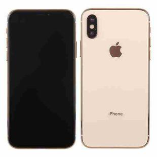 Dark Screen Non-Working Fake Dummy Display Model for iPhone XS(Gold)