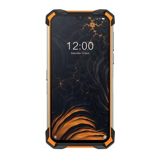 [HK Warehouse] DOOGEE S88 Pro Rugged Phone,  6GB+128GB, IP68/IP69K Waterproof Dustproof Shockproof, MIL-STD-810G, 10000mAh Battery, Triple Back Cameras Fingerprint Identification, 6.3 inch Android 10.0 MTK6771T Helio P70 Octa Core up to 2.0GHz, Network: 4G, NFC, OTG, SOS, Wireless Charging(Orange)