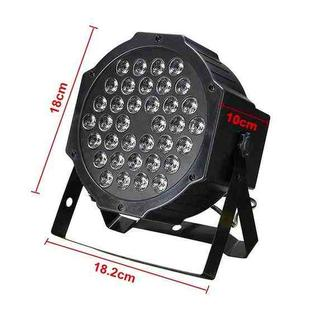36W 36 LEDs DMX512 RGB LED PAR Light with Remote Control, Strobe + Sound Control + Self-propelled, AC 100-240V