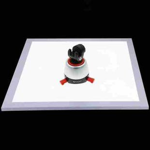 PULUZ 1200LM LED Photography Shadowless Light Lamp Panel Pad with Switch, Acrylic Material, No Polar Dimming Light, 34.7cm x 34.7cm Effective Area
