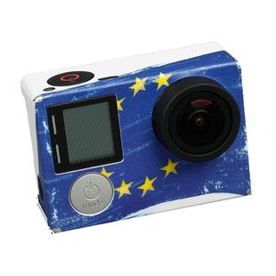 TMC EU Flag Pattern Sticker for GoPro HERO4