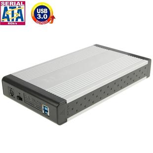 High Speed 3.5 inch HDD SATA External Case, Support USB 3.0