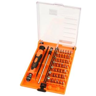 JAKEMY JM-8128 Magnetic Interchangeable 45 in 1 Multipurpose Precision Screwdriver Set Repair Tools for iPhone / iPad / PC