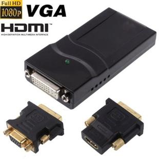 USB 2.0 to DVI / VGA / HDMI Display Adapter, Support Full HD 1080P, Expandable up to 6 Display Units