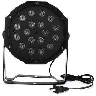 LED-B11  Plastic PAR Light DMX512 10W 18 LED RGB  Stage Light, Master / Slave Control / Auto Run Mode