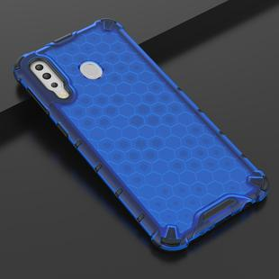 Shockproof Honeycomb PC + TPU Case for Galaxy M30 (Blue)
