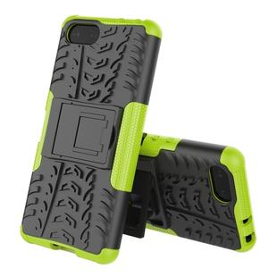 Tire Texture TPU+PC Shockproof Case for Sony Xperia XZ4 Compact, with Holder (Green)