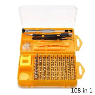 108 in 1 S2 Tool Steel Precision Screwdriver Nutdriver Bit Repair Tools Kit
