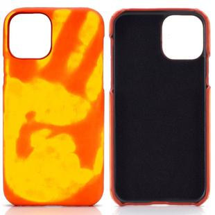 For Samsung Galaxy S20 Paste Skin + PC Thermal Sensor Discoloration Protective Back Cover Case(Red to Yellow)