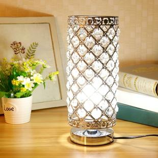Crystal Table Lamp Dining Room Living Room Decorative Art Table Lamp