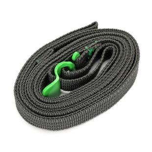 Outdoor Guick Release Camping Clothesline Strapping Rope(Green)