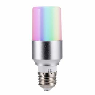 WIFI Smart Cylindrical Light Bulb App Control Color Changing Atmosphere Bulb Lamp Smart Home Voice LED Light, Model:6500K+RGBW B22