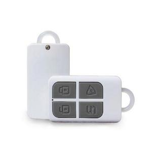 KERUI 433MHz Portable High-Performance 4-Buttons Keychain Wireless Remote Control Home Security Alarm System