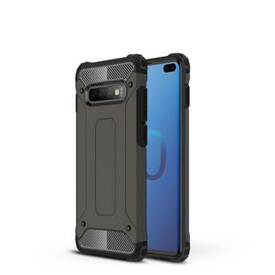 Magic Armor TPU + PC Combination Case for Galaxy S10+ (Bronze)