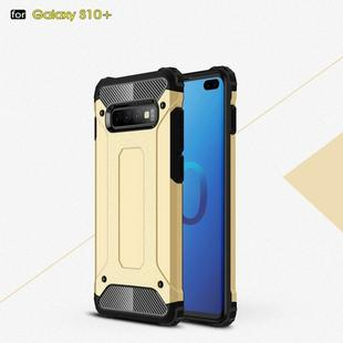 Magic Armor TPU + PC Combination Case for Galaxy S10+ (Gold)