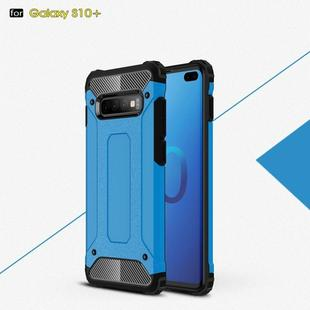 Magic Armor TPU + PC Combination Case for Galaxy S10+ (Blue)