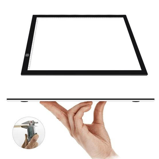 Electronics 8W 5V LED USB Three Level of Brightness Dimmable A3 Acrylic Scale Copy Boards Anime Sketch Drawing Sketchpad with USB Cable /& Power Adapter