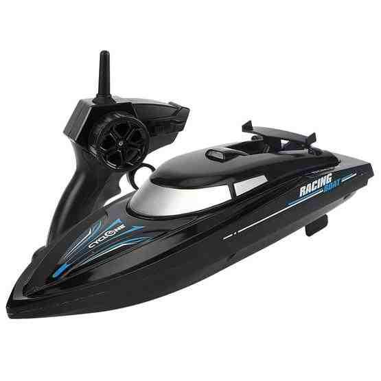 2.4G Children Rc Boat Remote Control Toy(Black) - 1