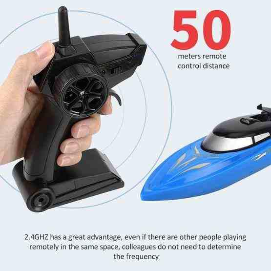 2.4G Children Rc Boat Remote Control Toy(Black) - 6
