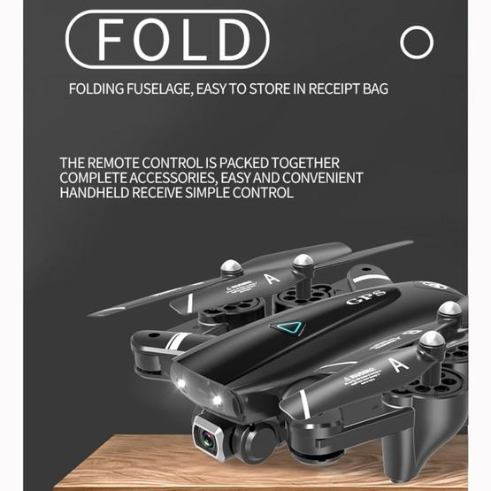 S167 2.4G 1080P WIFI Foldable GPS Positioning Remote Control Aircraft RC Quadcopter Drone - 2