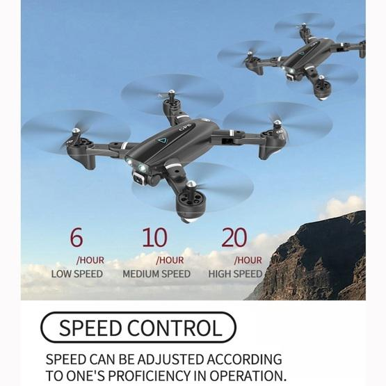 S167 2.4G 1080P WIFI Foldable GPS Positioning Remote Control Aircraft RC Quadcopter Drone - 3